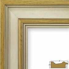 """Craig Frames Various White 2"""" Wood Country Picture Frame Poster Frame (80827014)"""