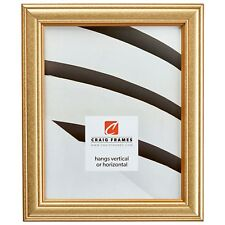 """Picture Frame Decorative Goldstone 1.25"""" Wide Complete New Wood Frame (59945000)"""