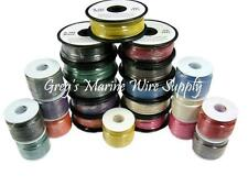 10 AWG Gauge Tinned Marine Primary Wire 25 up to 1000 Feet