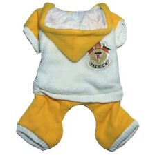 967 XS~XL Yellow Hooded Fleece Padded Sporty Overall /Dog Clothes Coat Jacket -N