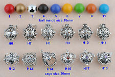 Angel Caller Harmony Ball Bell Pendant Mexican Bola Chime Sound Jingle Bell Cage