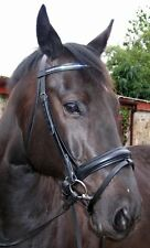 FSS German Crystal COMFORT Bling Dressage Bridle Custom Made Sparkle NEW