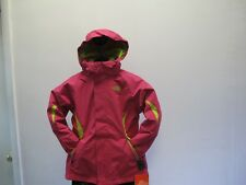 NEW GIRL'S THE NORTH FACE BOUNDARY TRICLIMATE JACKET AUTM 190 PINK