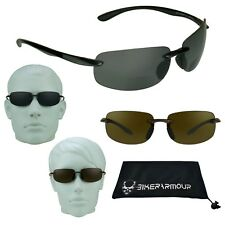 Motorcycle BIFOCAL POLARIZED Polycarbonate Sunglasses Glasses 1.50 2.00 2.50 3.0