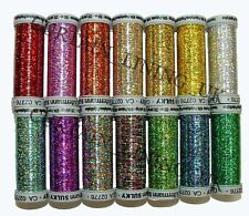 Gutermann SULKY Holoshimmer 200m Spool Cotton Thread Hand / Machine Embroidery