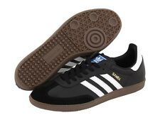 ADIDAS ® SAMBA ORIGINALS BLACK WHITE GUM  *AUTHENTIC*