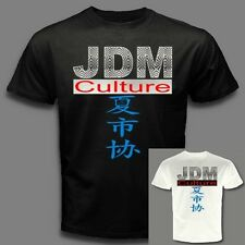 JDM CULTURE Japanese domestic market  import auto car Japan writing  T-SHIRT E01
