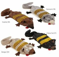 Grriggles Unstuffy Road Crew Dog Toy Squeaker Plush Squeaky Toys 2 squeakers