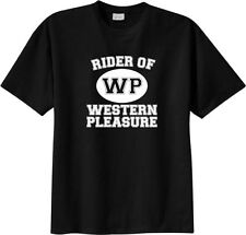 Rider of Western Pleasure Sport Horse & Rider T-Shirt Multiple Colors & Sizes