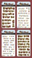 PROVO CRAFT CARDSTOCK STICKER PHRASES Deep Tone & Pastel Sister Friend Family