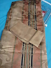 JCPenney home CYPRESS DRAPERY Curtain Pair Rod Pocket with Tie Backs 84L