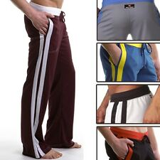 Mens Gym Yoga Athletic Slim Fit lounge Sweat Sport GYM Pants Homewear trousers