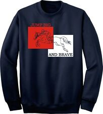 Jumping Jump Big and Brave Horse and Rider Sweatshirt Multiple Colors & Sizes