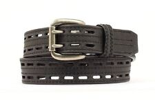 Nocona Men's Black Leather HD Supreme Work Belt N2710801