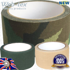 Web-tex Military Army High Strength 10m Fabric Material Strong Bodge Gaffa Tape