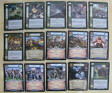 Warcry CCG Dogs of Wars Uncommon Cards Part 2/2 (Warhammer)