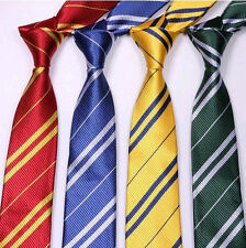 Harry potter Tie Costume Accessory 4 color Gryffindor Cosplay Party Bday Gift