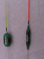6 Quick Change POLE FLOATS  FULL SET fishing carp FIRST EVER INTERCHANGEABLE
