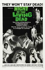 NIGHT OF THE LIVING DEAD 01 B-MOVIE REPRODUCTION ART PRINT A4 A3 A2 A1