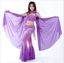 New Chiffon Shawl Veil Scarf multi-use 8 color 250x120cm Belly Dance Costumes