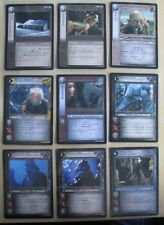 Lord of the Rings TCG The Hunters Rare, Uncommon & Common Cards (CCG LOTR)