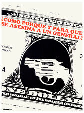 Para que se asesina un criminal? vintage POSTER.Graphic Design.Art Decor.3365