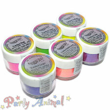 RAINBOW DUST STARDUST intervallo non tossico GLITTER CAKE DECORAZIONE SUGARCRAFT Sparkle