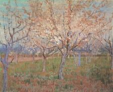 Orchard with Apricots in Bloom Van Gogh VG436 Repro Art Print A4 A3 A2 A1