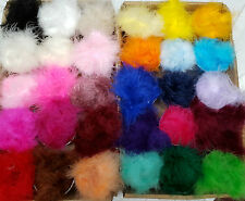 Feather Marabou Swandown Trim  Lovely & Soft 28 Colours Listed Cut to Order.