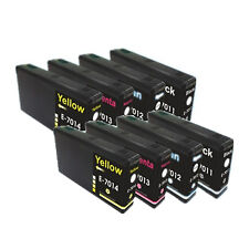 8 Compatible High Capacity Ink Cartridges E-7015 for Workforce Pro Printers