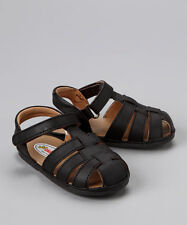 New Angel Toddler Boys N110 Leather Fisherman Sandals