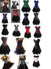 Burlesque Lolita Gypsy Corset & long skirt Fancy dress outfit Hen Party Costume