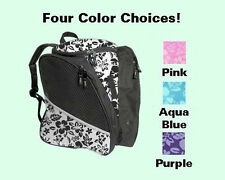 Transpack Ice Skating Backpack 4 FLORAL COLOR CHOICES