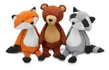 Manhattan Toy Forest Folksy Soft Toy Choice of FOX, RACOON AND BEAR NEW