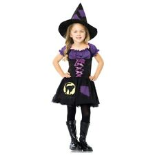 Witch Costume Kids Halloween Fancy Dress