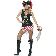 Pirate Costume Sexy Adult Halloween Fancy Dress