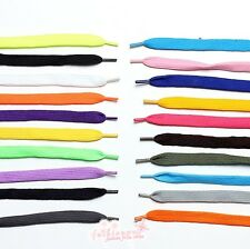 1 Pair 20 Color New Fashion Coloured Shoe/Boot Lace 110 CM Shoelaces