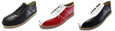 Ikon Leather Marriot Mod 60S Style Bowling Shoes In 3 Colours Sizes 6s to 12s