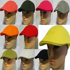 6 panel 100% natural cotton duckbill Newsboy Ivy Hat Cabbie Driving golf Cap