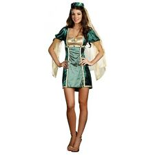 This Lady Sure Wood Sexy Medieval Maid Marian Halloween Costume Std/Plus Sizes