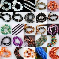 Carnelian Agate Gemstone GEM Loose Beads Jewelry Finding 30Styles To Choose From