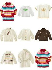 NWT Gymboree Girls Toddler Sweaters Cardigan Pullover **U Choose** 3 4 4T 5T 7 8