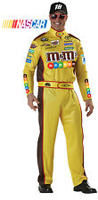 NASCAR Kyle Busch Speed Car Racer Adult Costume