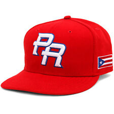 Official 2013 WBC Puerto Rico World Baseball Classic Fitted Hat Cap New Era