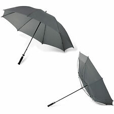 Wind-proof golf umbrella with foam grip. 8 panels,190T polyester. Manual opening