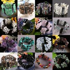 Magnetic Hematite Gemstone Stone Beads Bracelet Bangle Wristband Chain Necklace