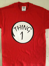 Thing 1 2 3 4 5 6  KIDS T SHIRT Dr. Seuss CAT IN THE HAT~U S A  FREE SHIPPING