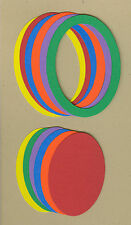 Your choice of colors on Frames-Oval Die Cuts - AccuCut