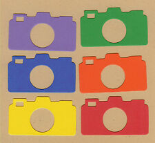 Your choice of colors on Photo Cameras Die Cuts - AccuCut