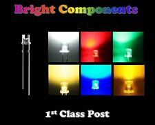 Wide Angle LEDs 3mm/5mm Red,Blue,White,Green,Yellow,Orange,Warm White - UK